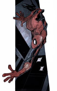 iPad Spidey by JohnTimms.deviantart.com
