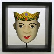 Theater Mask - Queen Boxed Frame