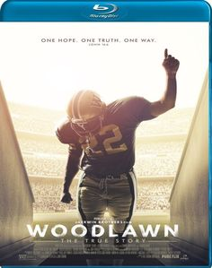 A gifted high school football player must learn to boldly embrace his talent and his faith as he battles racial tensions on and off the field in Woodlawn, a moving and inspirational new film based on the true story of how love and unity overcame hate and division in early 1970s Birmingham, Ala.