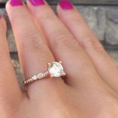Rose Gold Engagement Rings Tacori Beautifully Designed