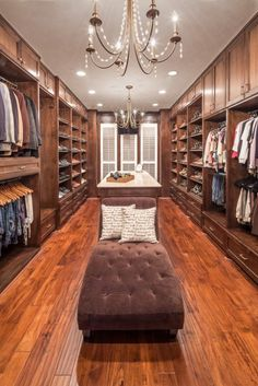 Check out these 12 drool worthy closets! These are closets that dreams are made of. Get some great ideas and inspiration here.