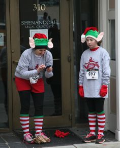 Santa's helpers needed some technological assistance,
