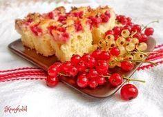 ribizlis kefíres süti