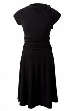 Retrolicious - Bridget Bombshell dress in Black