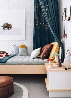 Such a cute little boys room!