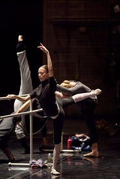 warm ups / ballet