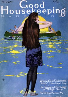 Coles Phillips -  Good Housekeeping Magazine cover (July 1915)