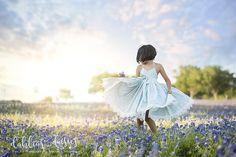 Dallas Bluebonnet Family Photographer, bluebonnets, doll cake dress, child twirling, child dancing Dress Cake, Blue Bonnets, Photographing Kids, Girl Photography, Family Photographer, My Girl, Baby Kids, Daisy, Tulle