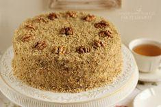 ...konyhán innen - kerten túl...: Diótorta Vanilla Cake, Muffin, Breakfast, Dios, Russian Cakes, Kuchen, Morning Coffee, Muffins, Cupcakes