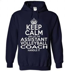 Assistant Volleyball Coach - #hoodie #custom hoodies. I WANT THIS => https://www.sunfrog.com/LifeStyle/Assistant-Volleyball-Coach-8707-NavyBlue-Hoodie.html?id=60505