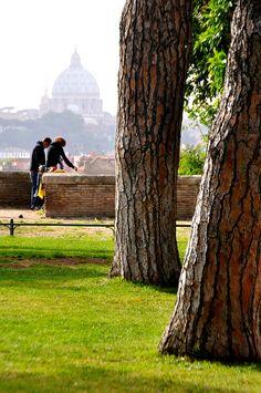 Aventine - Giardino degli Aranci (Parco Savello), Rome, Italy