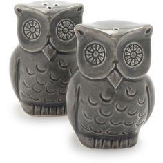 Sur La Table® Owl Salt and Pepper Shaker Set