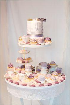 Lavender wedding cake   Hochzeitsblog - The Little Wedding Corner