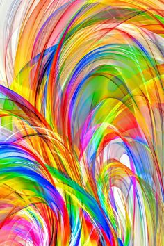 swirls of color abstract background by Alex Butterfly Wallpaper, Colorful Wallpaper, Wallpaper Backgrounds, Colorful Backgrounds, Rainbow Art, Rainbow Colors, Art Grunge, Mandala, World Of Color