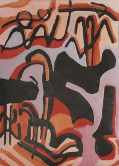 abstract painting by James Jonker