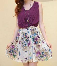 Purple Spring Outfit