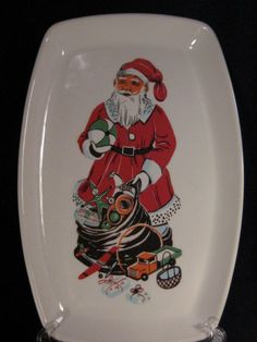 Vintage Figgjo Norway Santa Claus Christmas by havetohaveit