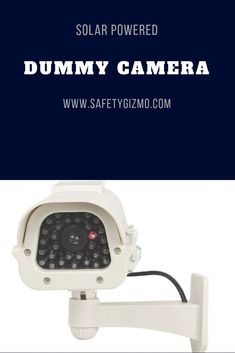 Home security doesn& have to be costly. This dummy camera will deter criminal behavior and keep your home safe. Wireless Home Security Systems, Security Alarm, Safety And Security, Security Products, Security Service, Best Home Security, Security Cameras For Home, House Security, Alarm Companies