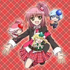 Shugo Chara! - Amu, Ran, Miki, and Su