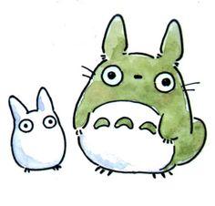 Chibi Totoro & Chu Totoro