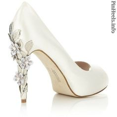Comfortable and Glamorous Harriet Wilde Exclusive Sakura Silk Satin Peep  Toe Bridal Wedding Pumps c08941dd67d