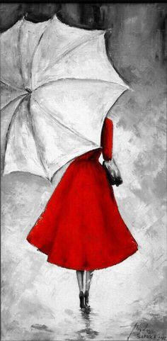 Girl Drawing Sketches, Art Drawings Sketches Simple, Pencil Art Drawings, Illustration Sketches, Umbrella Painting, Umbrella Art, Portfolio Book, Fashion Portfolio, Portfolio Layout