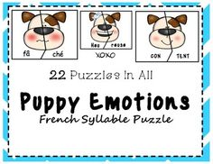 Some students need extra motivation to get them practicing important phonological skills. This cute little game, 22 puzzles in all, will give your students something new to try. French is a beautiful language, that beauty requires speakers understand basic syllables, phonetics and stress. We... Italian Words, French Words, Beginning Sounds, Little Games, Vowel Sounds, Syllable, Literacy Centers, Mathematics, Speakers