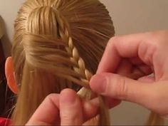 How to do a Ladder Braid - YouTube