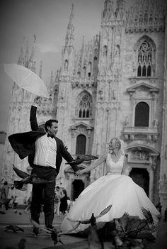 Ρομαντικές φωτογραφίες γάμου στην Ιταλία