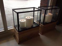 Mooi voor in de vensterbank, met artificial candles!! Gewoon waxinelichtjes er in, druppelt niet, blijft altijd mooi!!!