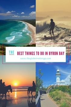 20 of the best things to do in byron bay, australia. travel to byron bay and tick of this bucket list of must-see places and fun adventure activities in Auckland, Beautiful Places To Visit, Cool Places To Visit, West Coast Australia, Australia 2018, Brisbane, Melbourne, Australia Travel Guide, Holiday Places
