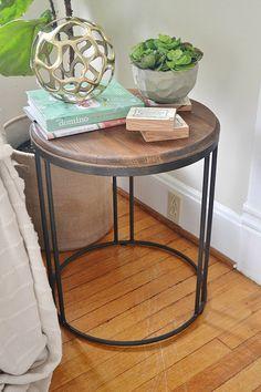 C Table Tray Table Tj Maxx Our House Pinterest