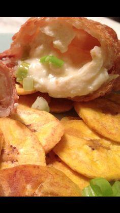 Scallion with Manchego Cheese & Queso Fresco Empanada