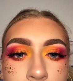 45 Stunning Sunset Eyes Makeup Inspirational Ideas 🌄 for Prom and Wedding 💋 45 Stunning Eye Makeup at Sunset Inspiring Ideas 🌄 For Prom and Wedding 💋 – Sunset Makeup 17 💕 , ! Cute Makeup, Pretty Makeup, Awesome Makeup, Stunning Makeup, Crazy Makeup, Stunning Eyes, Flawless Makeup, Makeup Goals, Makeup Inspo