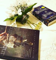 "What a beautiful photo of one of our favorite books - A Discovery of Witches! nikokunireads on Instagram: ""My Current Reads #theumbecomingofmaradyer #adiscoveryofwitches #booknerdigans #bookstagram #instabook #yalovin #yalit #barnesandnoble #bookandflower…"""