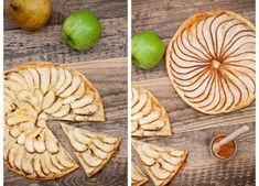 Rustikální jablečný, hruškový koláč, Kitchenette