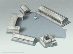 Ágora: Se le conoce así a una plaza pública griega donde se daba el intercambio.