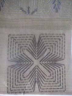 Σταυροβελονια Needlepoint Stitches, Crochet Stitches, Embroidery Stitches, Hand Embroidery, Embroidery Designs, Needlework, Cross Stitch Borders, Cross Stitch Patterns, Huck Towels
