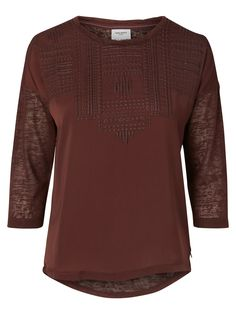 VERO MODA blouse. Style it with fine trousers and pups for work.