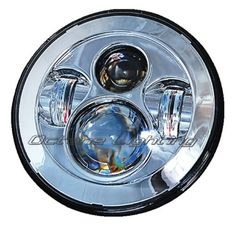 "47645 motorcycle-parts 7"" Motorcycle Chrome Projector Daymaker HID LED Light Bulb Headlight For Harley  BUY IT NOW ONLY  $119.95 7"" Motorcycle Chrome Projector Daymaker HID LED Light Bulb Headlight For Harley..."