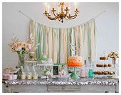 """""""Breakfast at Tiffany's"""" Inspired Birthday Party.... I may steal this theme for my daughter's first birthday- ADORABLE!! Tiffany Birthday Party, Tiffany Party, First Birthday Parties, Birthday Party Themes, Girl Birthday, First Birthdays, Birthday Ideas, 21st Birthday, Blog Bebe"""