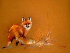 Image result for soft pastel fox