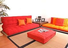 Shiki Futon. As living room furniture/ guest bed.