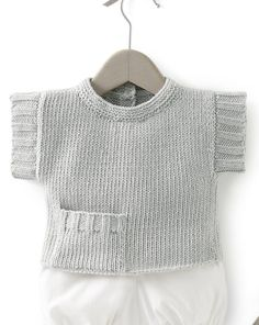 Vest Knitted Boys and Girls Baby Sweater, Vest Cardigan Patterns Knitted Boys and Girls Baby Sweater, Vest Cardigan Patterns Welcome to the knitting vest models gallery. We have created beautiful male baby vest m. Baby Sweater Patterns, Cardigan Pattern, Baby Knitting Patterns, Baby Cardigan, Baby Pullover Muster, Crochet Girls, Boys Sweaters, Boy Fashion, Baby Dress