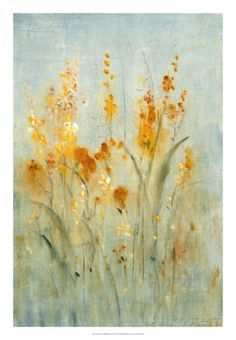 Tim O'Toole Solid-Faced Canvas Print Wall Art Print entitled Spray of Wildflowers I Canvas Wall Art, Wall Art Prints, Poster Prints, Posters, Spray Paint Art, Floral Wall Art, Stretched Canvas Prints, Framed Art, Wildflowers