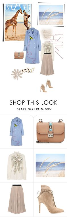 """""""Без названия #553"""" by umacat ❤ liked on Polyvore featuring Anastasia, Mira Mikati, Valentino, Clover Canyon, WALL, Tome and Gianvito Rossi"""
