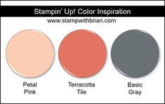 Stampin 'Up! Inspiration en couleur: Old Olive, Rich Razzleberry, Calypso Coral Beautiful Color Combinations, Color Combos, Color Schemes, Color Pairing, Stampin Up, Fresh Figs, Collor, Color Blending, Coordinating Colors