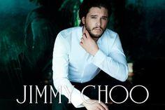 Jimmy Choo 2014 Fall/Winter Campaign featuring Kit Harington