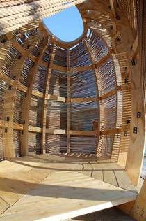 KNEstudio : Rope Pavilion au Canada