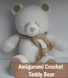 Free Crochet Bear Patterns,Bear Amigurumi Crochet Pattern-I have rounded up a huge list of free crochet teddy bear patterns for you to get inspired by these cute and soft teddy bears. You could absolutely make them with your own crochet hooks. Crochet Teddy Bear Pattern Free, Teddy Bear Patterns Free, Animal Knitting Patterns, Stuffed Animal Patterns, Crochet Patterns Amigurumi, Free Crochet, Crochet Hooks, Crochet Car, Stuffed Animals